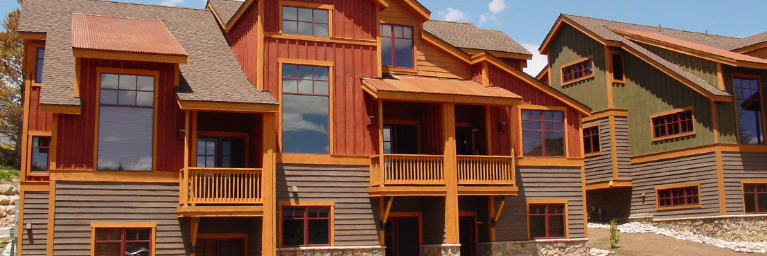 New construction and real estate in Summit County, Colorado.